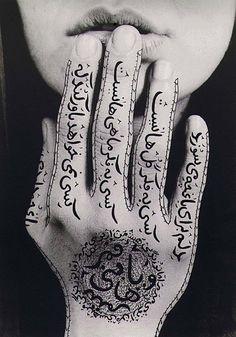 by Shirin Neshat, Iranian female visual artist