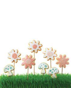 Easter Cookies // Flower Sugar Cookies Recipe
