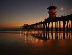 Huntington Beach Pier #WeLoveOrangeCounty !