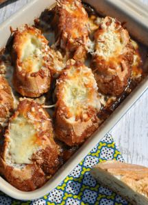 French Onion Soup Casserole ... a new way to experience French onion soup.