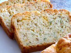 Cheese and zucchini bread
