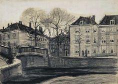 Mediados de marzo 1882 Vincent van Gogh sacó 12 puntos de vista de La Haya que fueron encargados por su tío Cor.