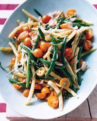 dressing recipes, picnic foods, potato salads, green beans, beanandtomato salad, green salads, tarragon dress, green beanandtomato, green bean recipes