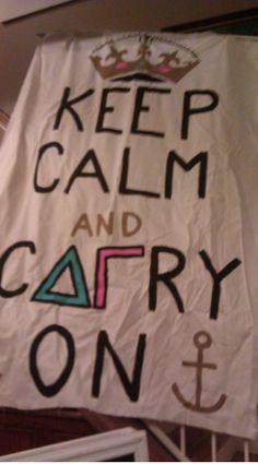 DELTA GAMMA banner.