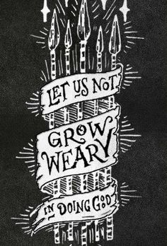 Grow Weary by Joseph Alessio