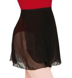 Body Wrappers Chiffon Wrap Skirt (Lilac Medium/Tall)