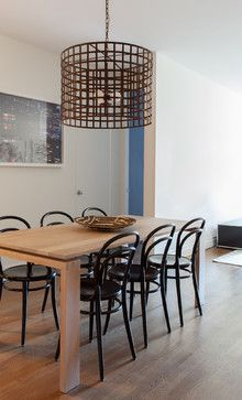 Greenwich Village Apartment - contemporary - dining room - new york - Lucy Harris Studio