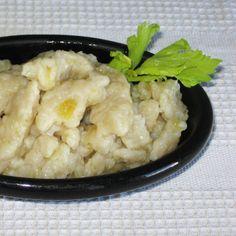 Polish Drop Potato Dumplings Recipe - Traditional Kartoflane Kluski Made with Raw Potatoes