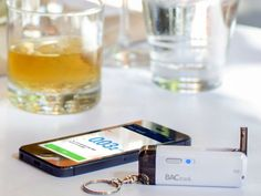 The BACtrack Vio is a revolutionary keychain-sized breathalyzer that lets you drink responsibly and keeps you safe on drinking nights. getdatgadget.com/bactrack-vio-keychain-breathalyzer-lets-drink-responsibly/