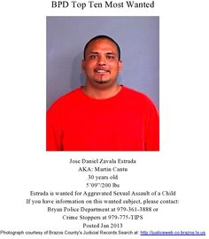 Wanted: Jose Estrada