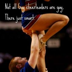 Haha (: from Kythoni's main Cheerleading board (one of many) m.21.48.2 #KyFun