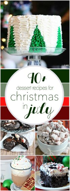 90+ Recipes for Christmas in July | www.somethingswanky.com christmas recipes, tree, simple cakes, christmas sweaters, christmas treats, cake designs, christma recip