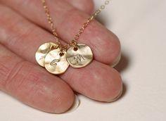 Grandmother necklace Mother Necklace Grandma Gift by MinimalVS