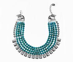 Azza Fahmy Pharaonic Collection Horus Necklace