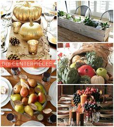 DIY Thanksgiving Centerpiece Ideas (PHOTOS) #diy #thanksgivingcenterpiece #thanksgiving #decorating