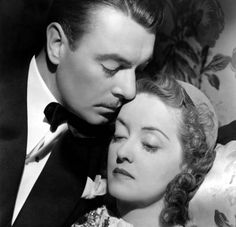 George Brent and Bette Davis in Dark Victory (1939)
