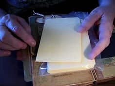 Vertical Paper Bag Mini Tutorial