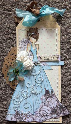 Creative Mayhem: Prima Mixed Media Doll Stamps - Lorrena and Swing Dress