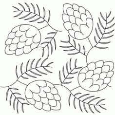 pattern for pinecone image