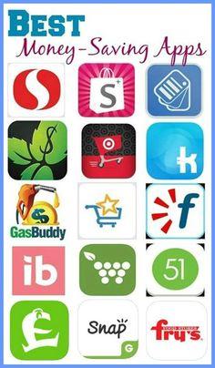 Top 15 Money Saving Apps.
