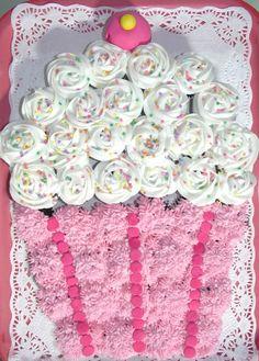cupcake pull apart