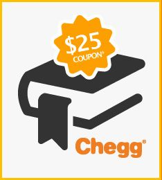 Chegg is offering all incoming freshmen $25 off their textbook order for the fall - woohoo!  Just let us know what college you're enrolled in to claim your coupon!  Enjoy!