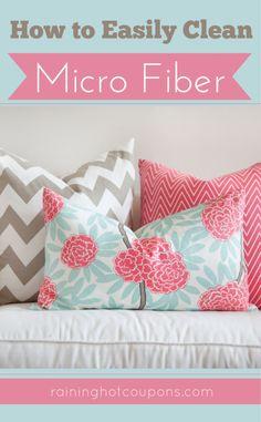Clean microfiber