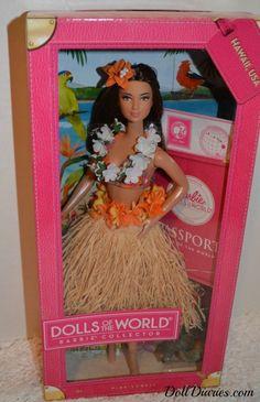 Barbie Dolls of the World Hawaii