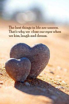 kiss, laugh, dream...