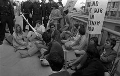 Sit-ins to protest the Vietnam War