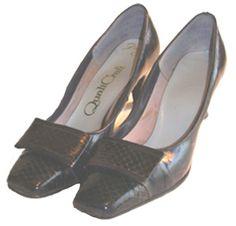 Vintage 60s Blue Shoes Quali Craft