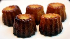 Canelés De Bordeaux - French Custard Mini Cakes