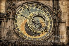 Prague Astronomical Clock - Joan Carroll #prague #astronomicalclock