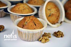 Cevizli Muffin