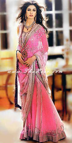 Latest amaranth color dresses collection