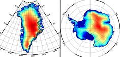 Highs and lows: height changes in the ice sheets mapped