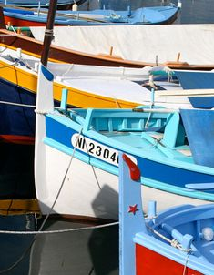 Fishing boats on the Côte d'Azur