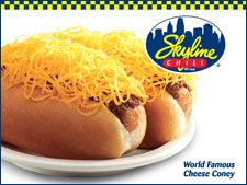 Skyline Chili, our first vacation destination!