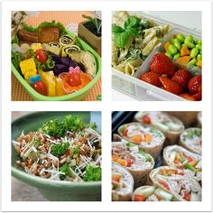 Healthy lunches for on-the-go!