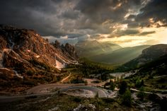 On the way to Rifugio Auronzo by pdave