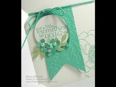 Envelope Punch Board Jar Shape Card