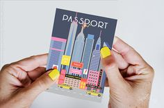New York Party Passport Invitation, Iconic New York City Birthday, Pretzels Pizza, Fashionista, Taxi