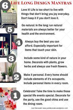 6 Life Long Design Mantras