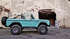 Classic early ford bronco