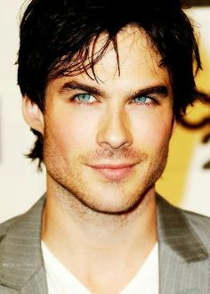 Those eyes. Ian