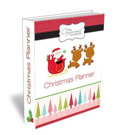 Christmas planner - A 45 page planner filled with all you need to be organised for Christmas.