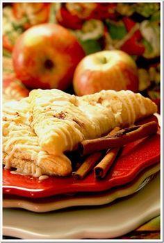Caramel Apple & Pumpkin Turnovers