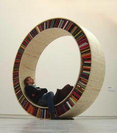 archive II circular library by david garcia