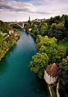 Switzerland - Bern: The Pureness of Blue