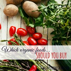 Which Organic Foods